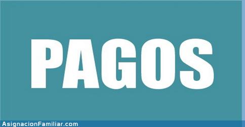 Cronograma de Pago Asignaciones Familiares