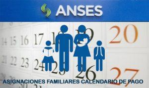 Fecha de cobro ANSES Asignaciones Familiares en Agosto 2016