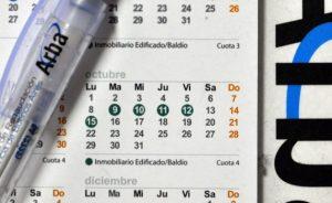 fechas de vencimiento del IVA