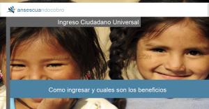 Ingreso Ciudadano Universal