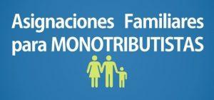 Calendario Pago Asignaciones Familiares a Monotributistas Febrero 2017