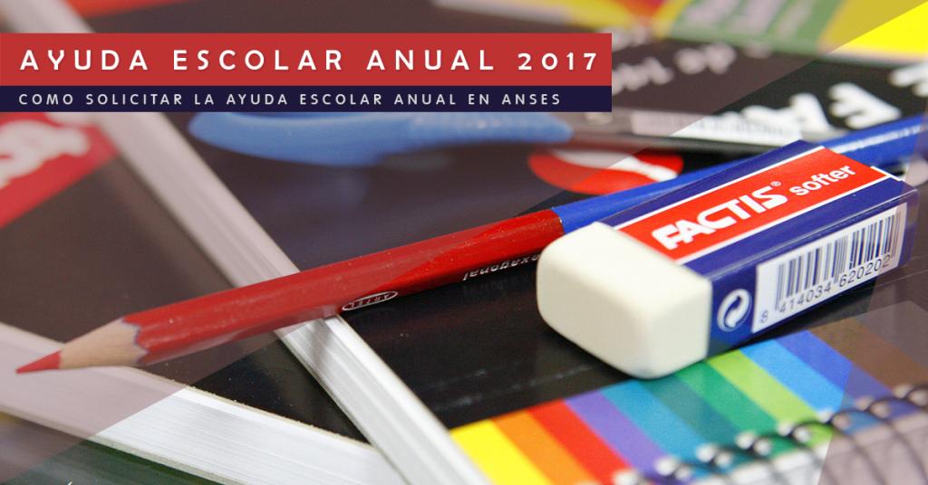 Ayuda Escolar Anual 2017