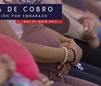 Fechas de Cobro Asignacion por Embarazo Mayo 2017