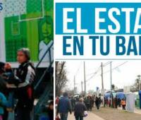 El Estado en tu Barrio: Donde estará desde el 16 al 19 de Mayo?