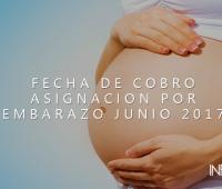 Fechas de cobro Asignacion por Embarazo Junio 2017