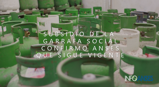 Subsidio de la Garrafa Social