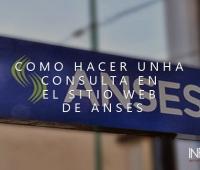 Como realizar una consulta en Anses desde Internet