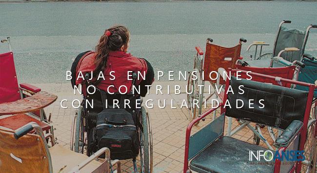 Bajas en Pensiones no Contributivas