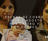 Fechas de cobro JULIO Y AGOSTO: Asignación Universal por Hijo por Cajero y Correo