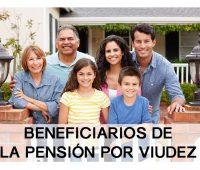 Pensión por Viudez: Actualización de Datos obligatoria
