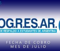 Fecha de Cobro PROGRESAR Julio 2017