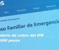 Calendario de cobro del IFE de 15000 pesos