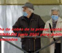 Fecha de cobro de la primer cuota del AGUINALDO junio 2021 para Jubilados y Pensionados