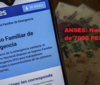 ANSES: Nuevo IFE de 7000 PESOS