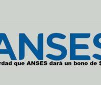 ¿Es verdad que ANSES dará un bono de $15000?