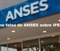 Pagina falsa de ANSES sobre IFE 2021
