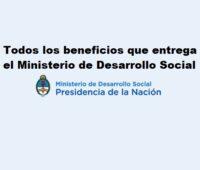 Todos los beneficios que entrega el Ministerio de Desarrollo Social