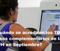 ¿Cuándo se acreditan los 7000 pesos complementarios de la AUH en Septiembre?